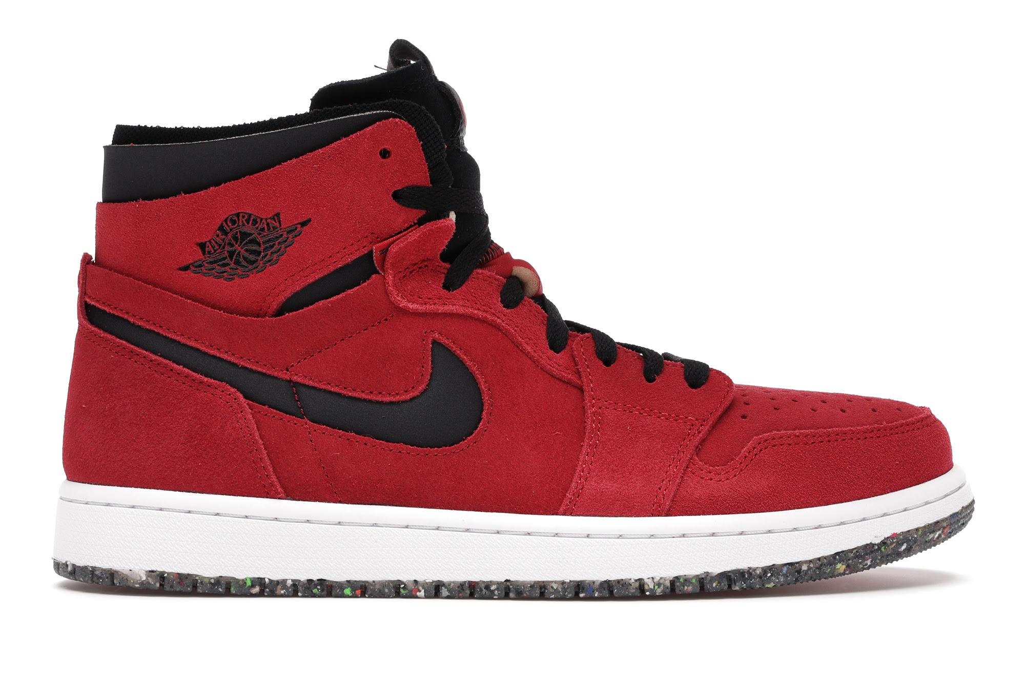 Jordan 1 High Zoom Air CMFT Red Suede - CT0978-600