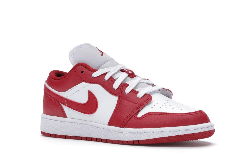 Jordan 1 Low Gym Red White (GS) - 553560-611