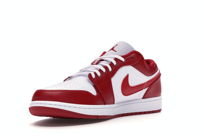Jordan 1 Low Gym Red White - 553558-611