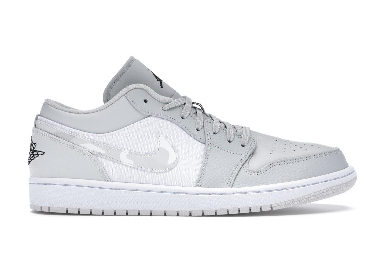 Jordan 1 Low White Camo