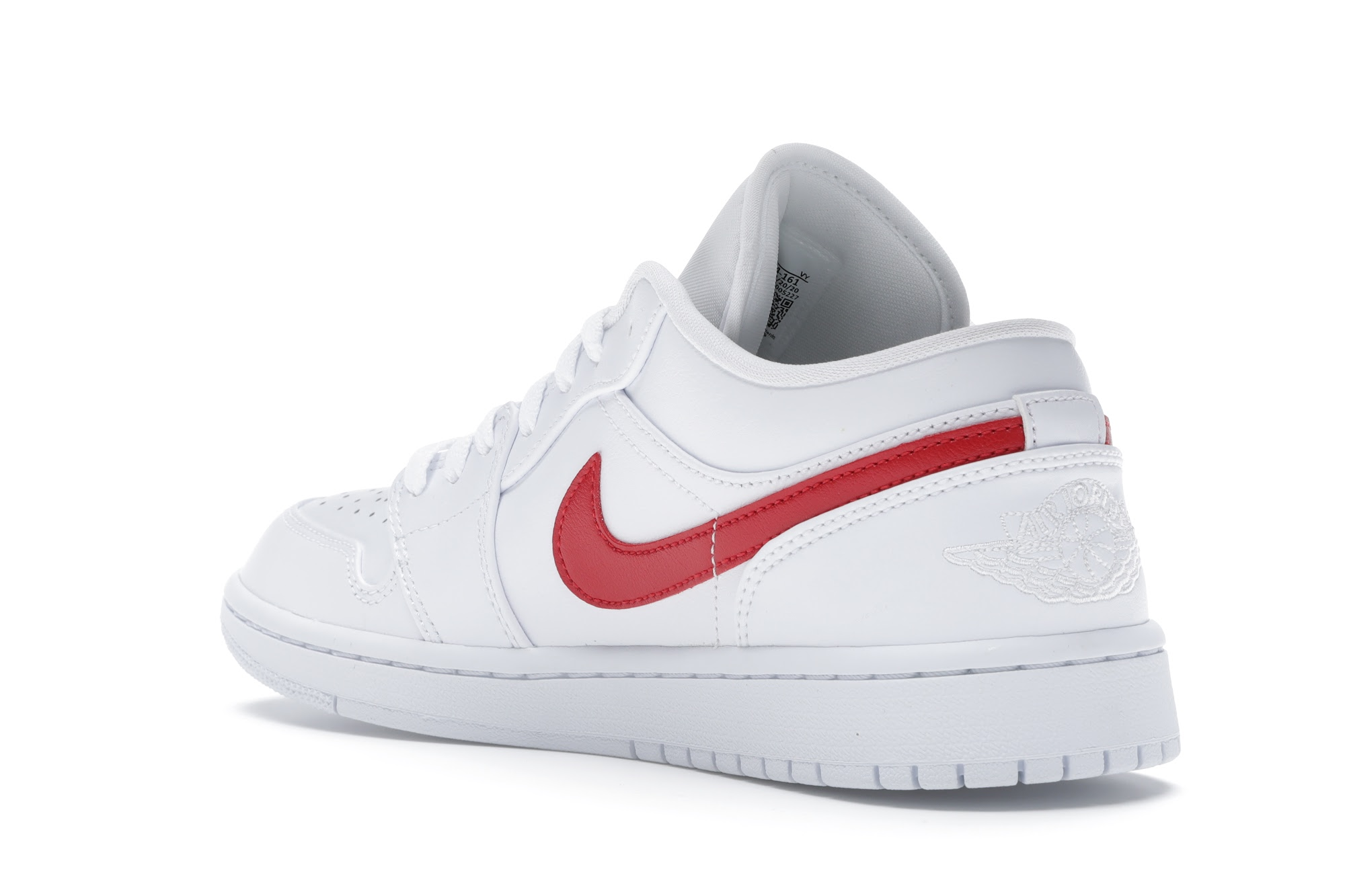 Jordan 1 Low White University Red (W) - AO9944-161