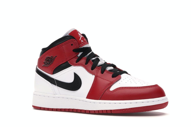 Jordan 1 Mid Chicago 2020 (GS) - 554275-173/554725-173