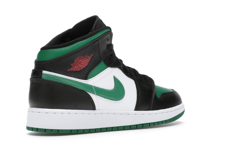 Jordan 1 Mid Green Toe (GS) - 554725-067