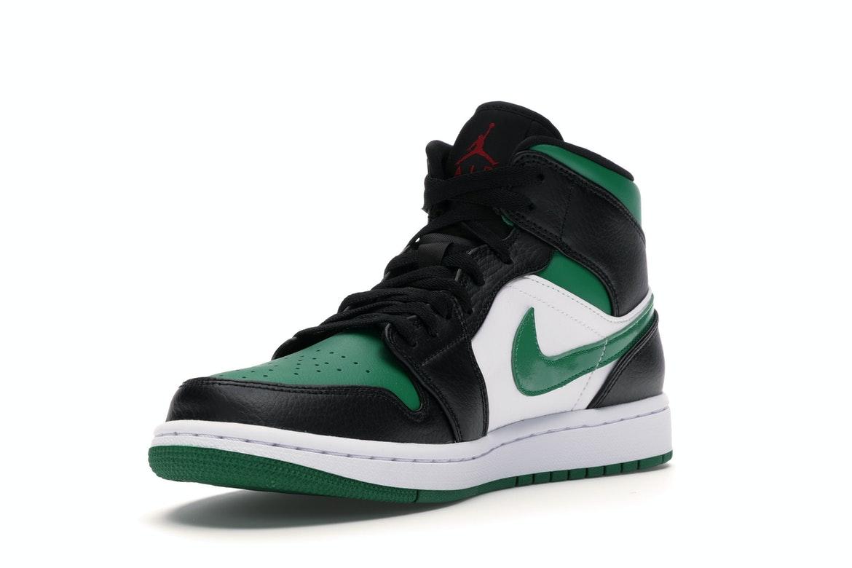 Jordan 1 Mid Green Toe - 554724-067