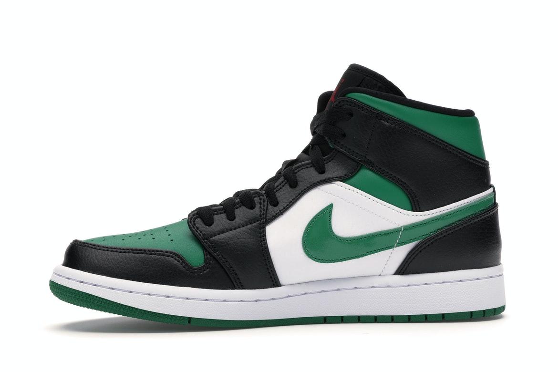 Jordan 1 Mid Green Toe