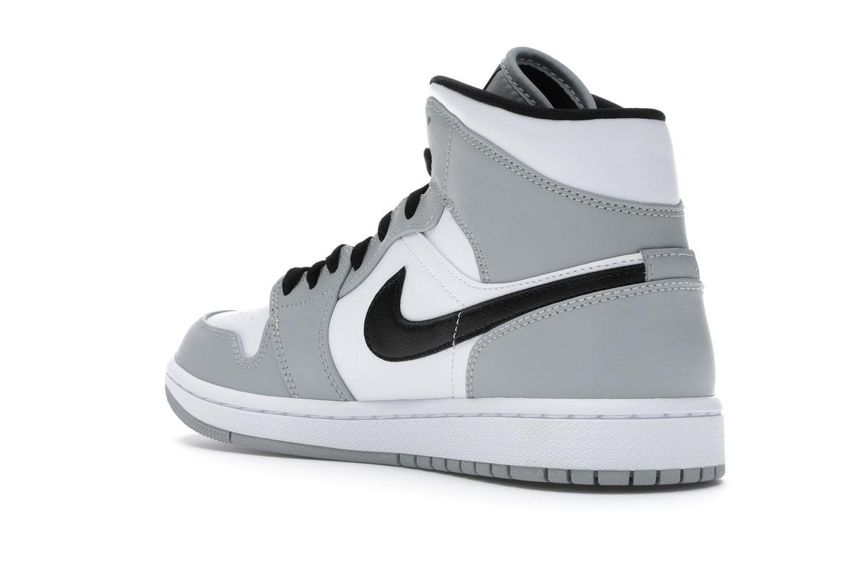 Jordan 1 Mid Light Smoke Grey - 554724-092