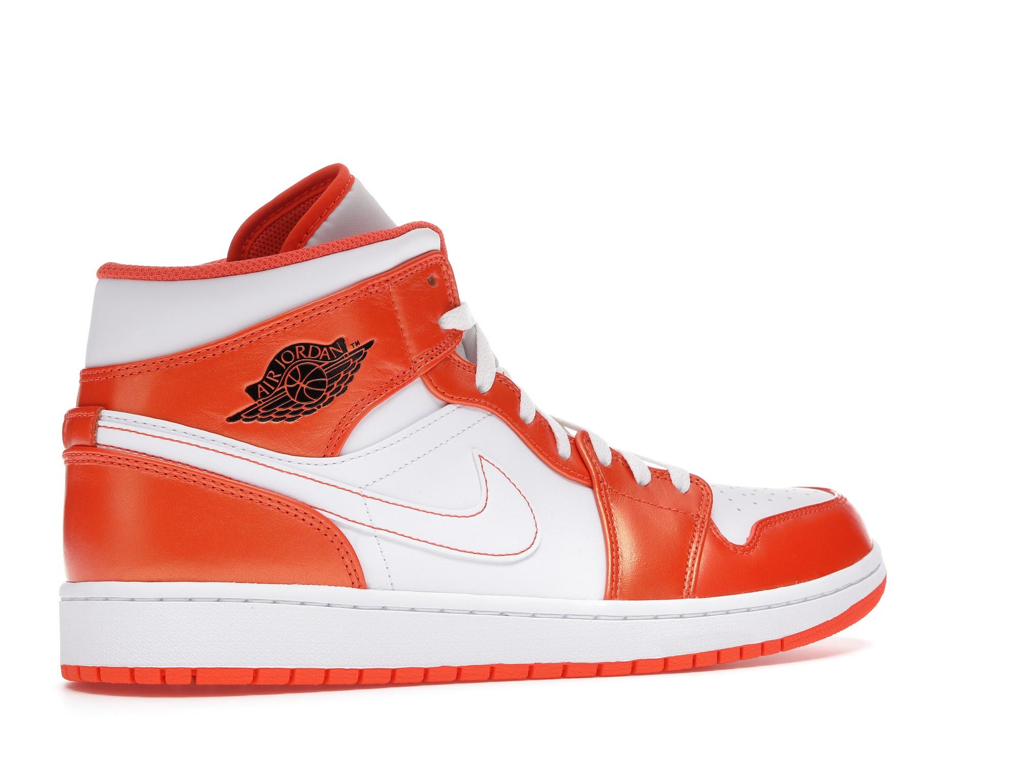 Jordan 1 Mid Metallic Orange