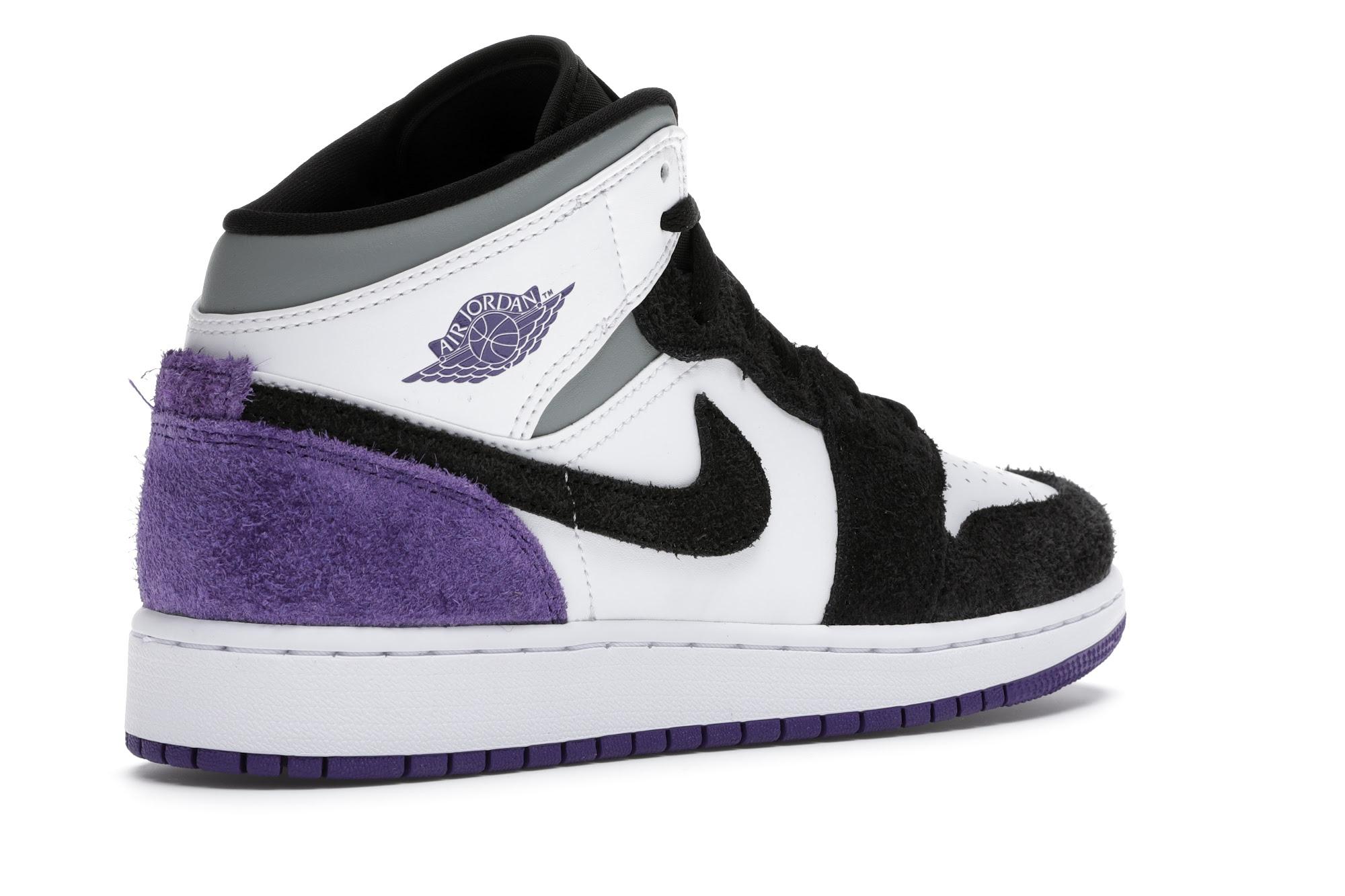 Jordan 1 Mid SE Purple (GS) - BQ6931-105