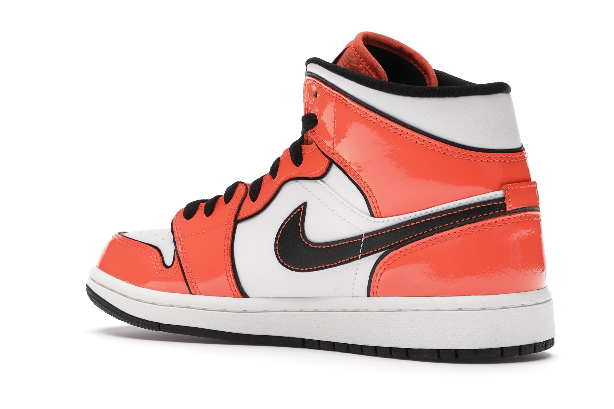 Jordan 1 Mid SE Turf Orange - DD6834-802