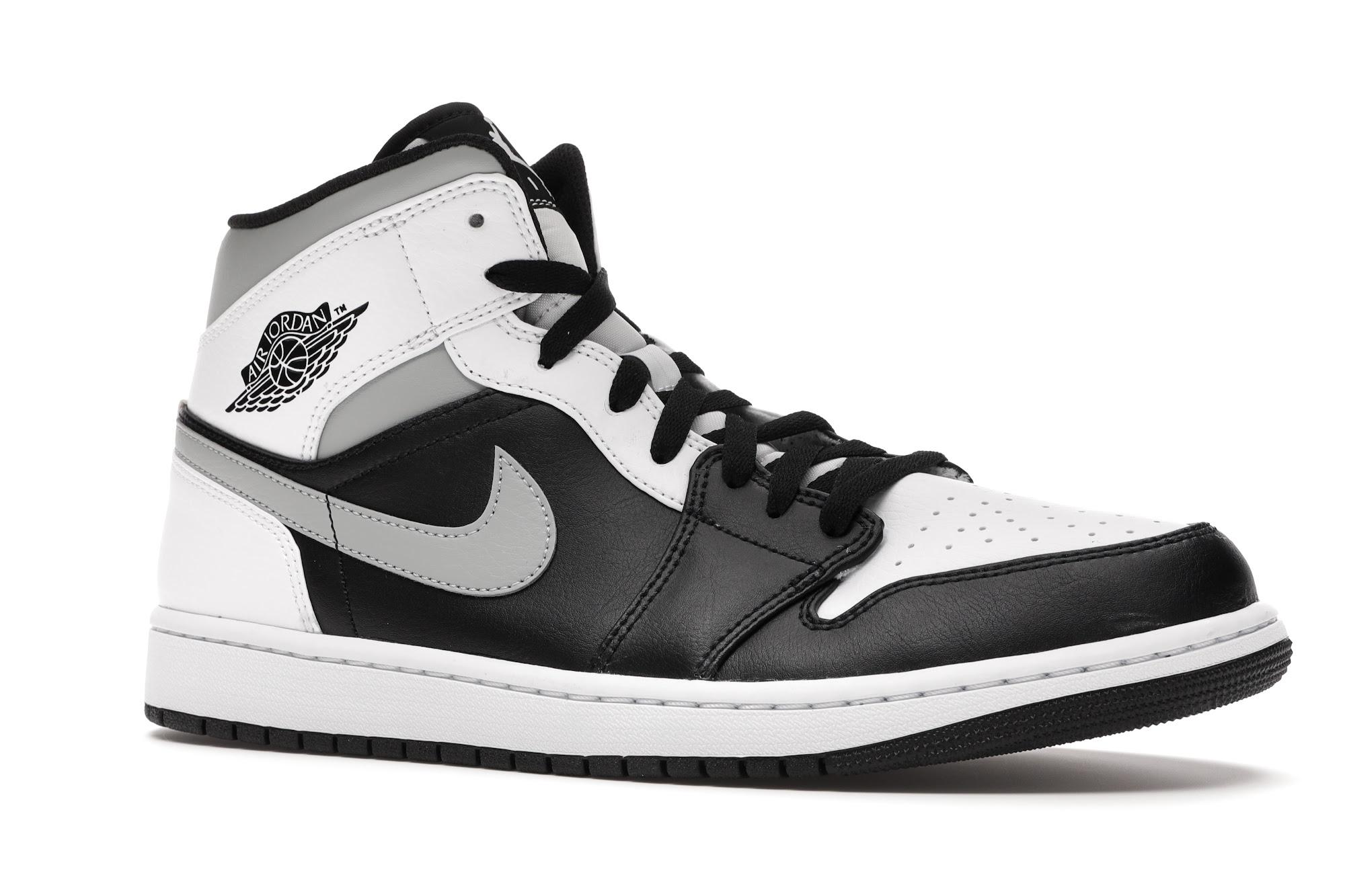 Jordan 1 Mid White Shadow - 554724-073