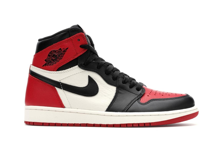 Jordan 1 Retro High Bred Toe - 555088-610