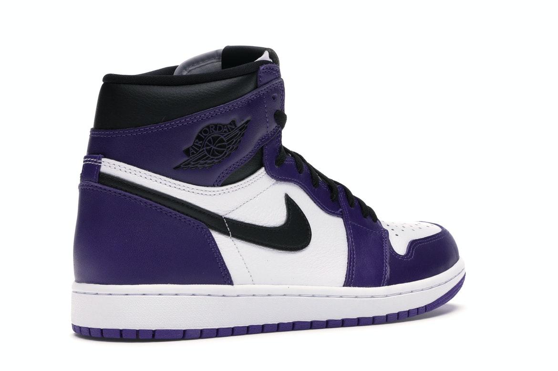 Jordan 1 Retro High Court Purple White - 555088-500