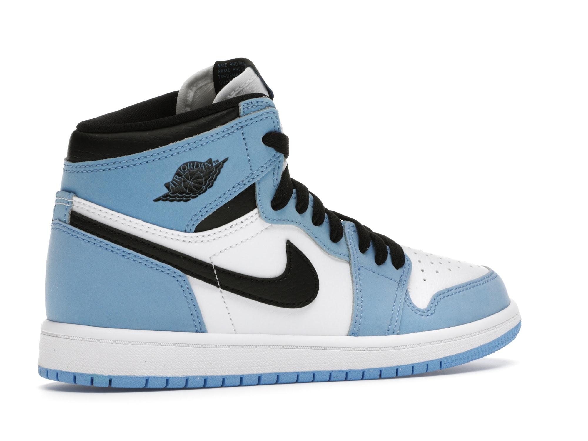 Jordan 1 Retro High OG University Blue (PS) - AQ2664-134