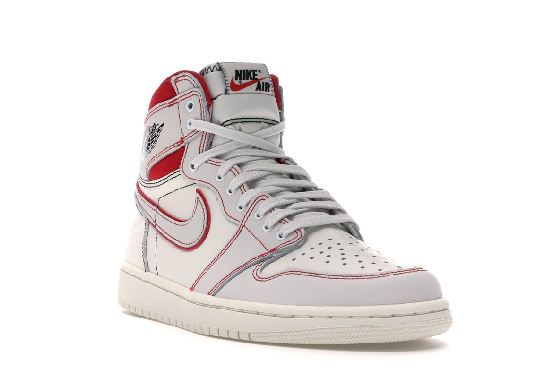 Jordan 1 Retro High Phantom Gym Red - 555088-160