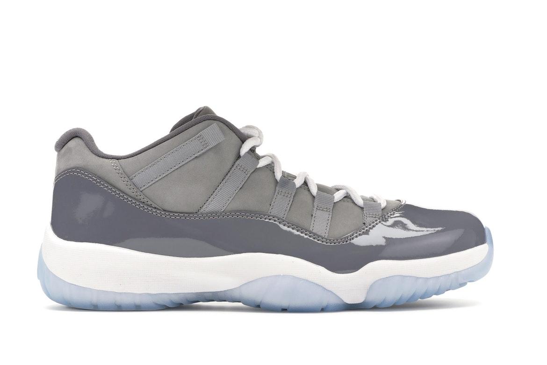 Jordan 11 Retro Low Cool Grey - 528895-003