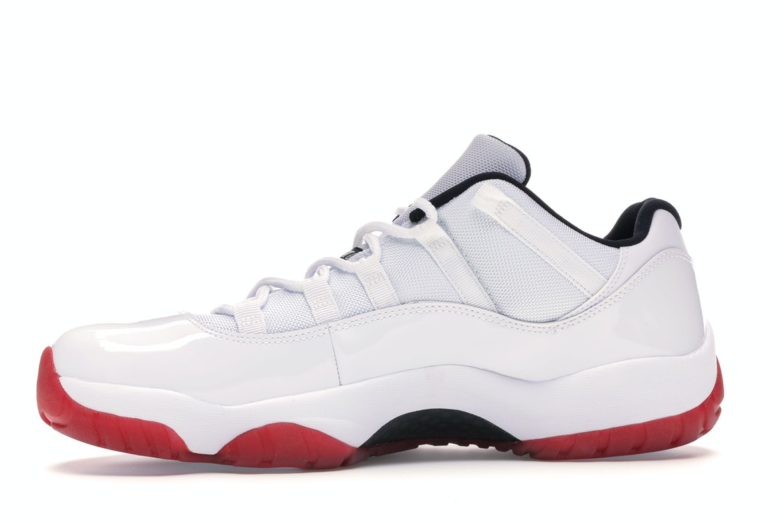 Jordan 11 Retro Low White Red (2012)