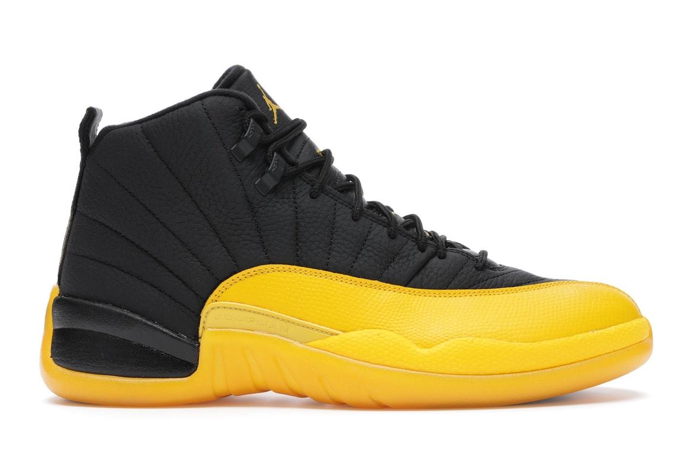 Jordan 12 Retro Black University Gold