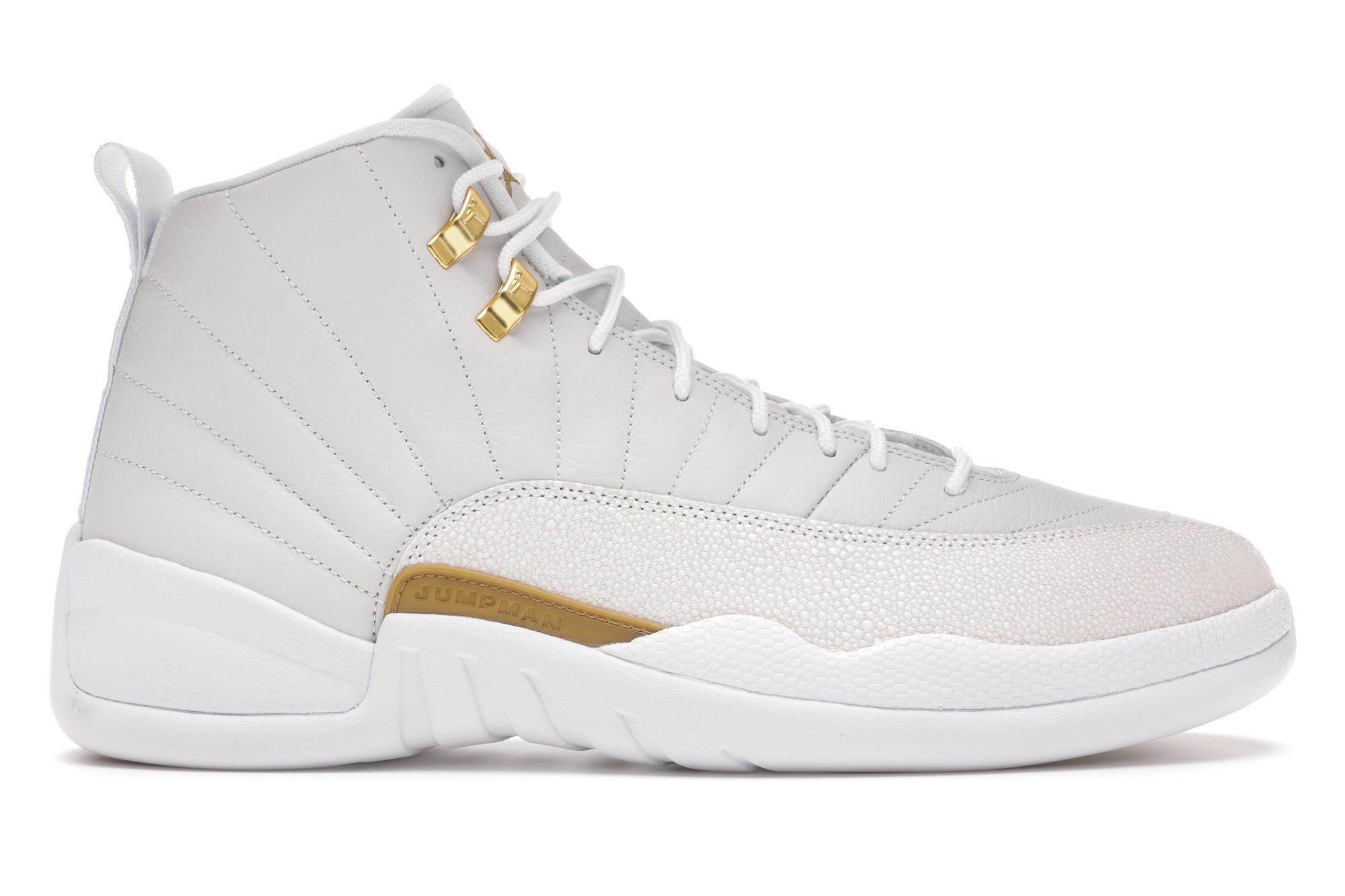 Jordan 12 Retro OVO White
