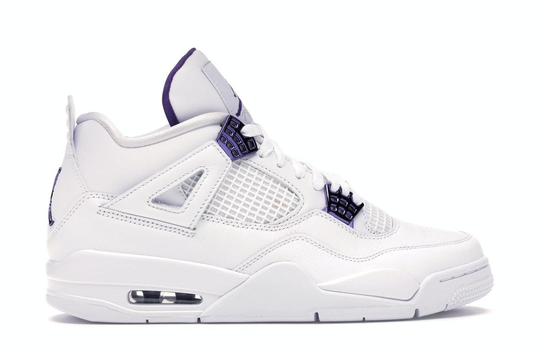 Jordan 4 Retro Metallic Purple
