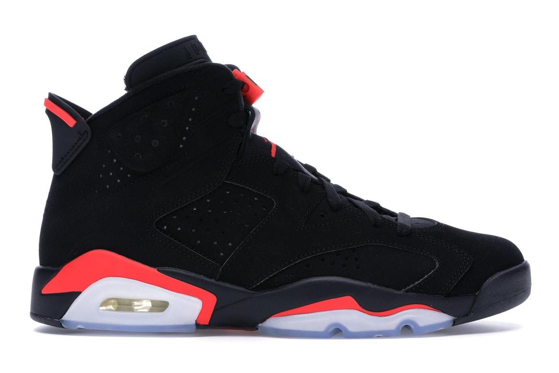 Jordan 6 Retro Black Infrared (2019) - 384664-060