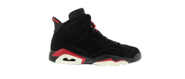 Jordan 6 Retro Black Varsity Red (2010) - 384664-061