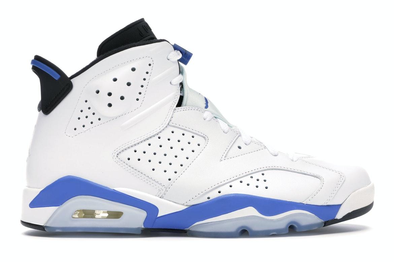 Jordan 6 Retro Sport Blue (2014) - 384664-107 from $345