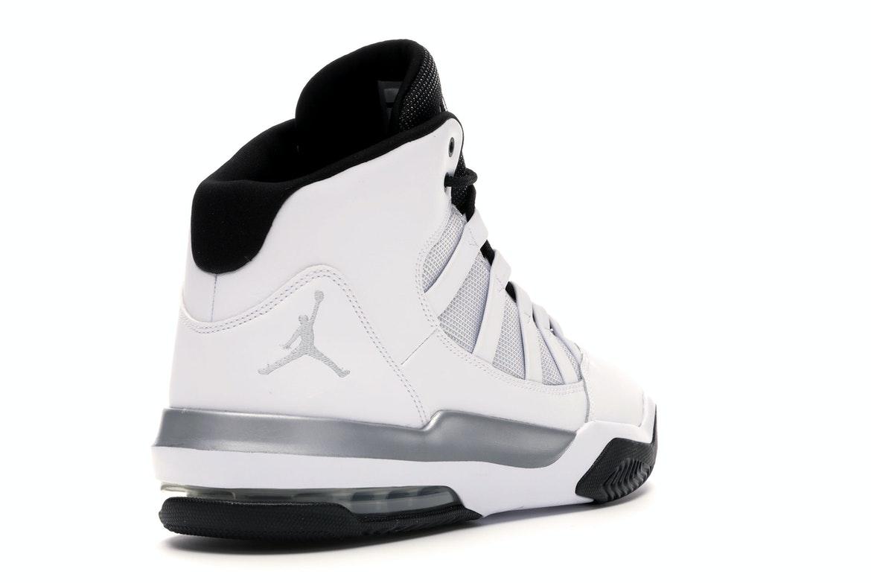 Jordan Max Aura White Metallic Silver Black - AQ9084-102
