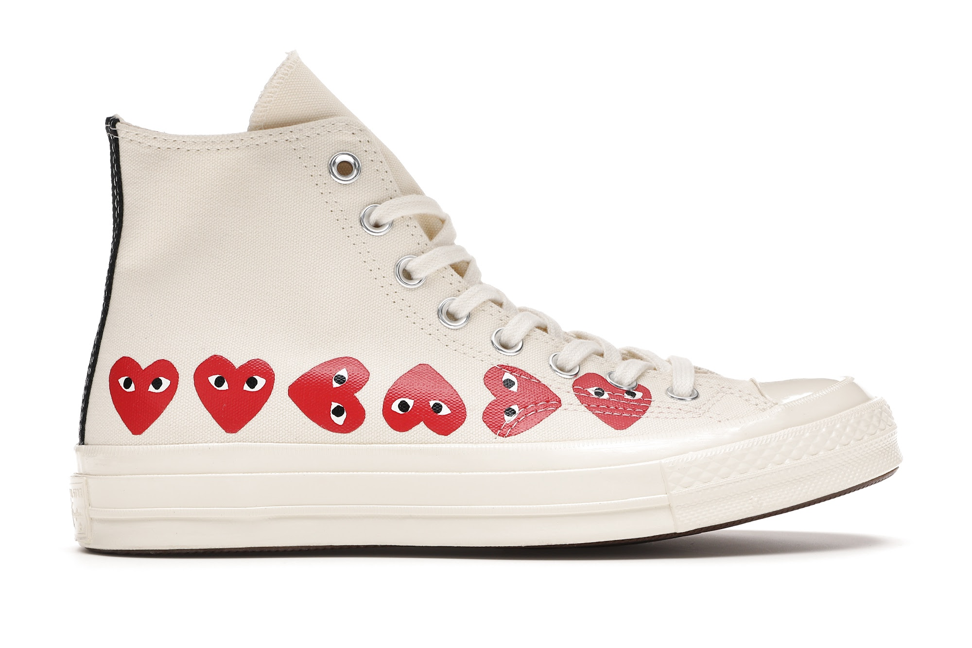 Converse Chuck Taylor All-Star 70s Hi Comme des Garcons Play Multi ...