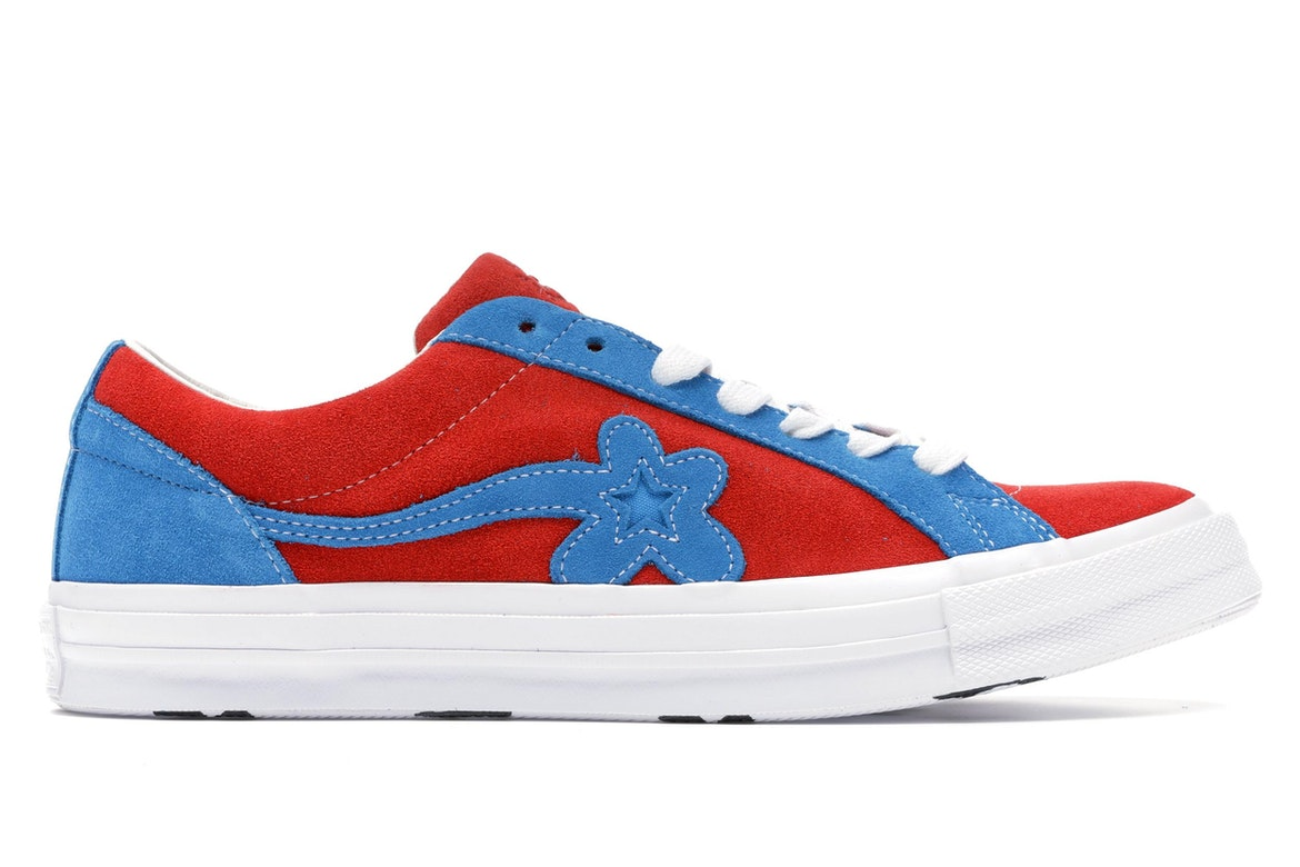 Converse One Star Ox Tyler the Creator Golf Le Fleur Red Blue