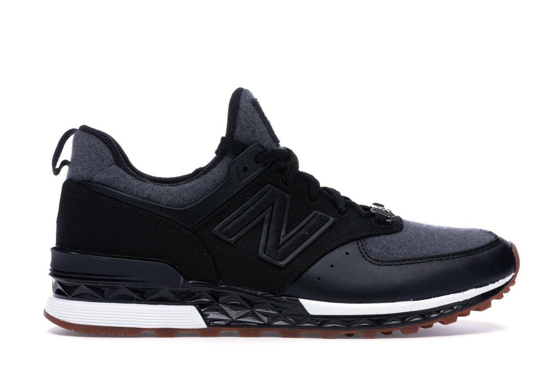 New Balance 574 Sport New Era Black Grey (Special Box)