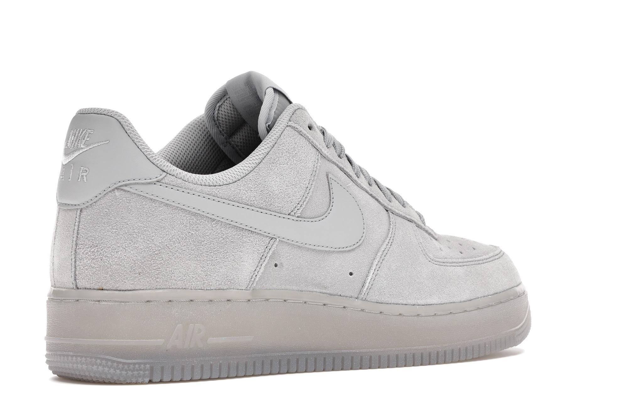 Nike Air Force 1 '07 LV8 Grey Suede - BQ4329-001