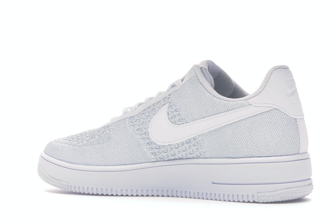 Nike Air Force 1 Flyknit 2 White Pure Platinum