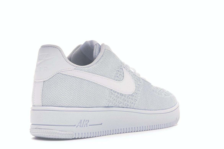 Nike Air Force 1 Flyknit 2 White Pure Platinum - AV3042-100