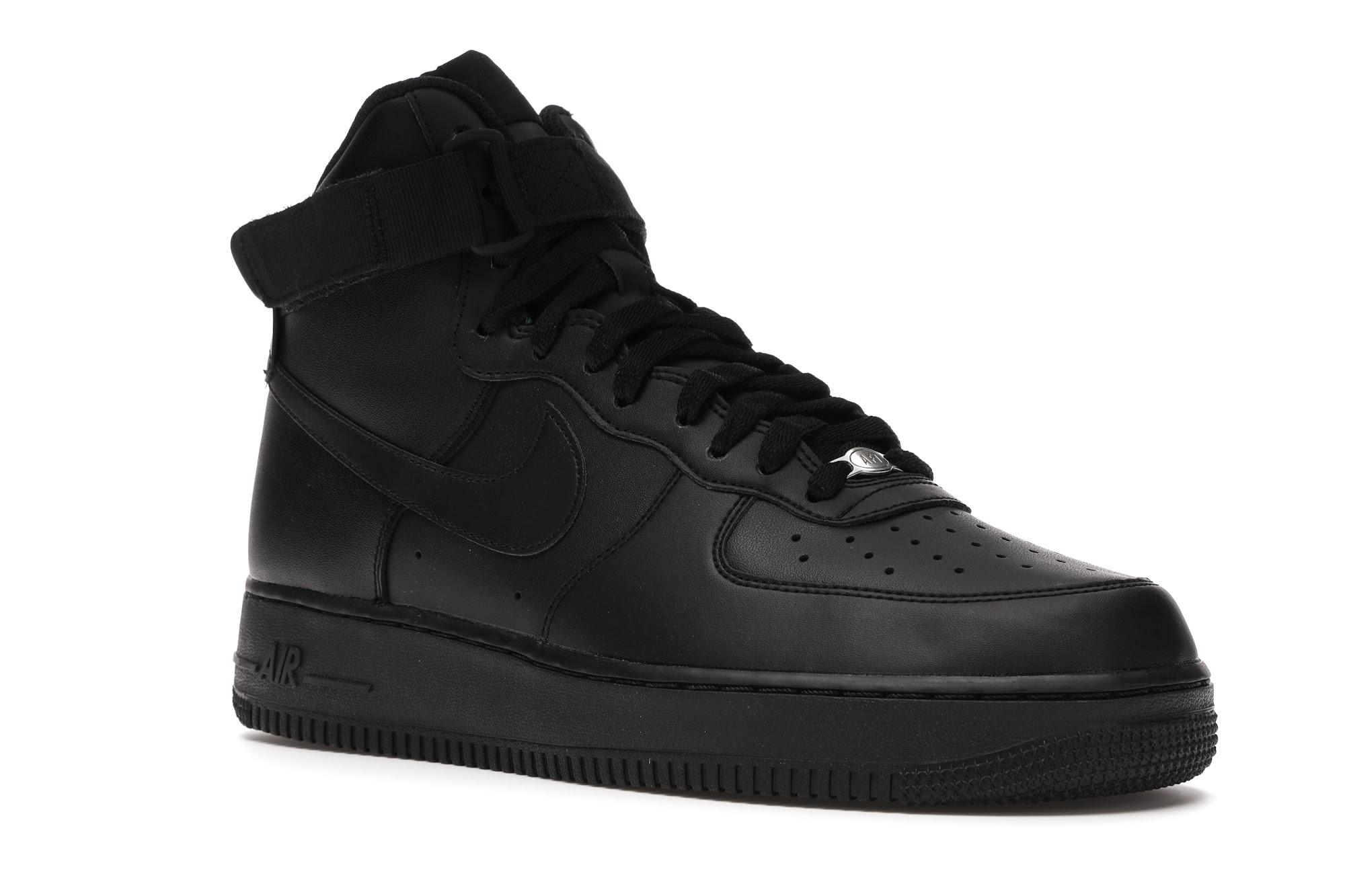 Nike Air Force 1 High Triple Black (2017) - 315121-032