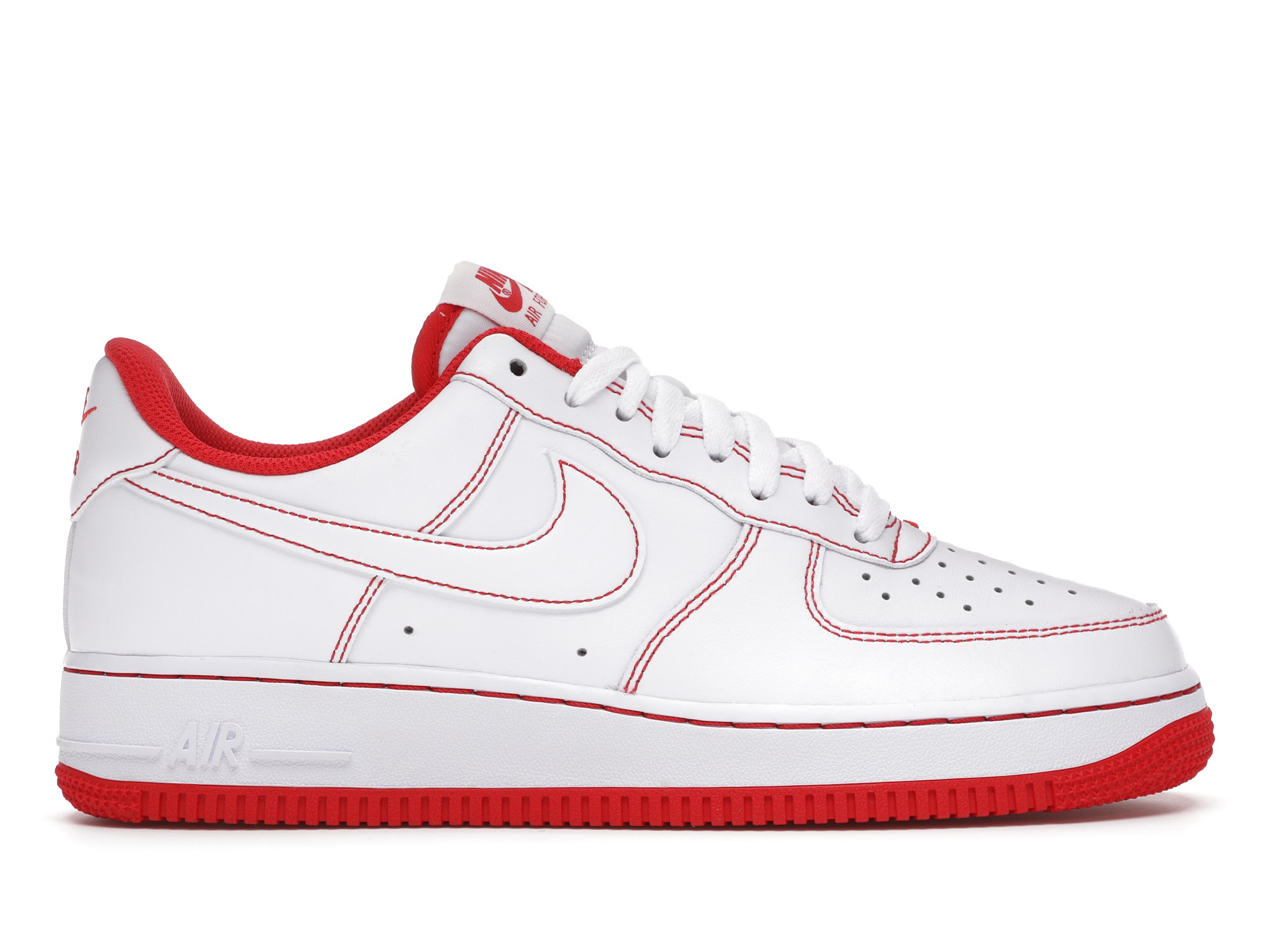 Nike Air Force 1 Low 07 White University Red