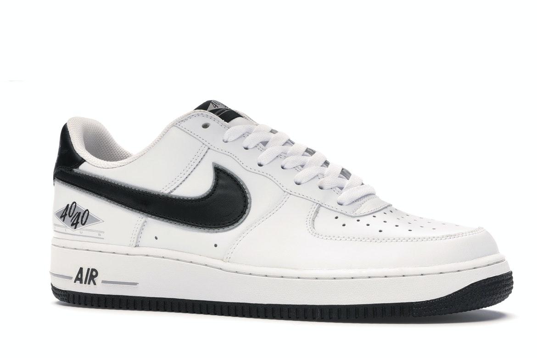 Nike Air Force 1 Low 40/40 Club White Black