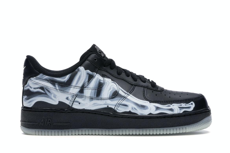 Nike Air Force 1 Low Black Skeleton