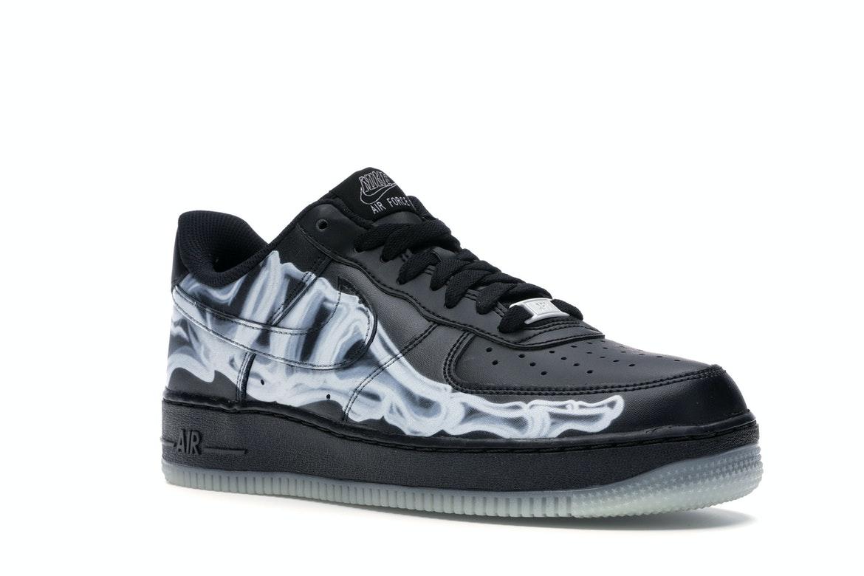 Nike Air Force 1 Low Black Skeleton - BQ7541 001