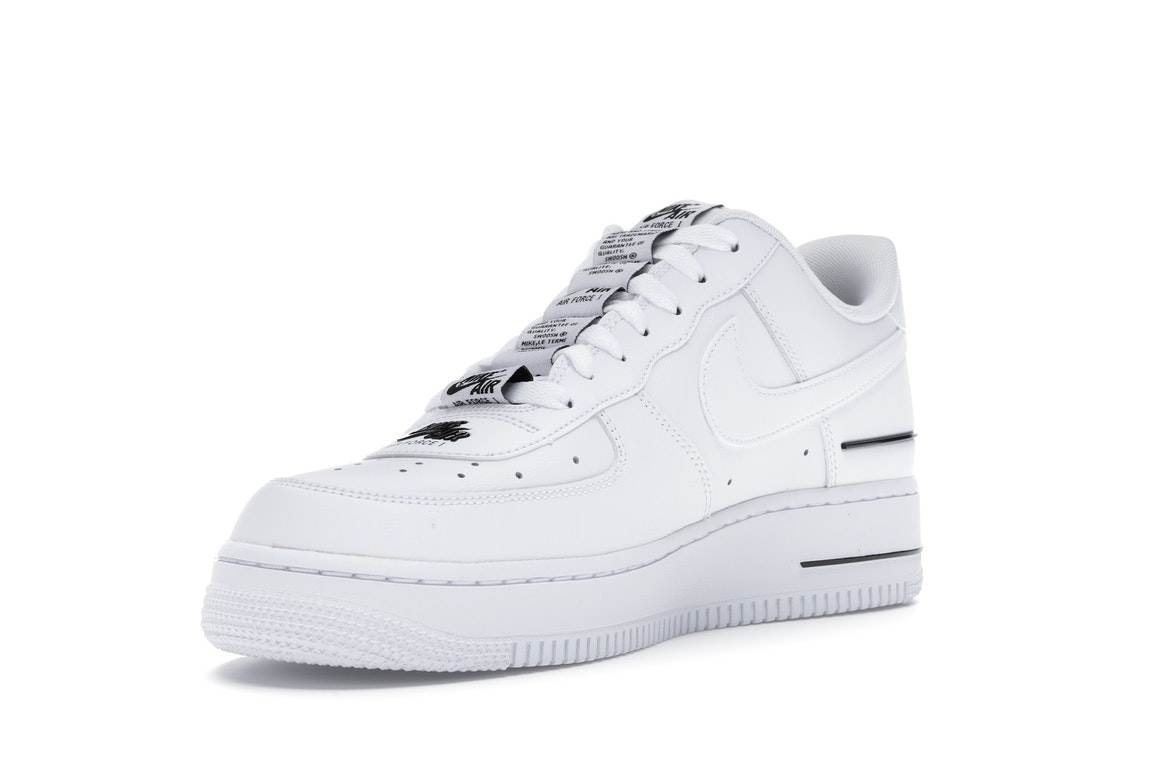 Nike Air Force 1 Low Double Air Low White Black - CJ1379-100