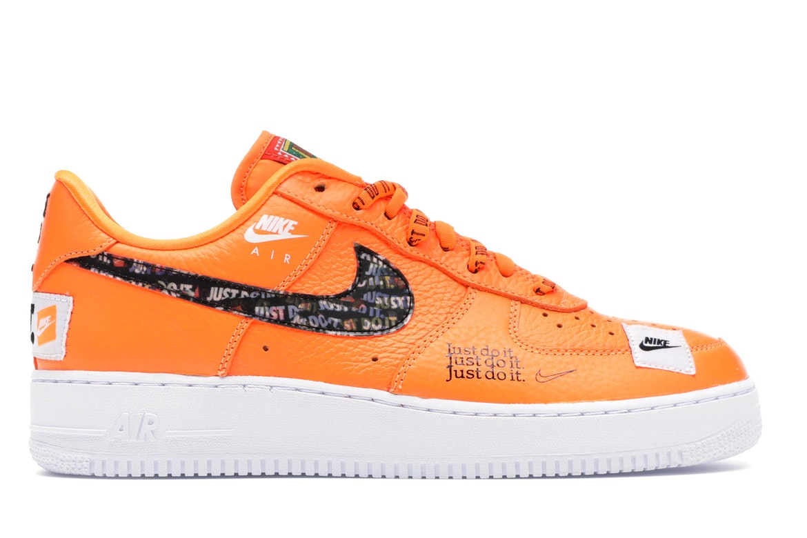 Nike Air Force 1 Low Just Do It Pack Total Orange - AR7719-800
