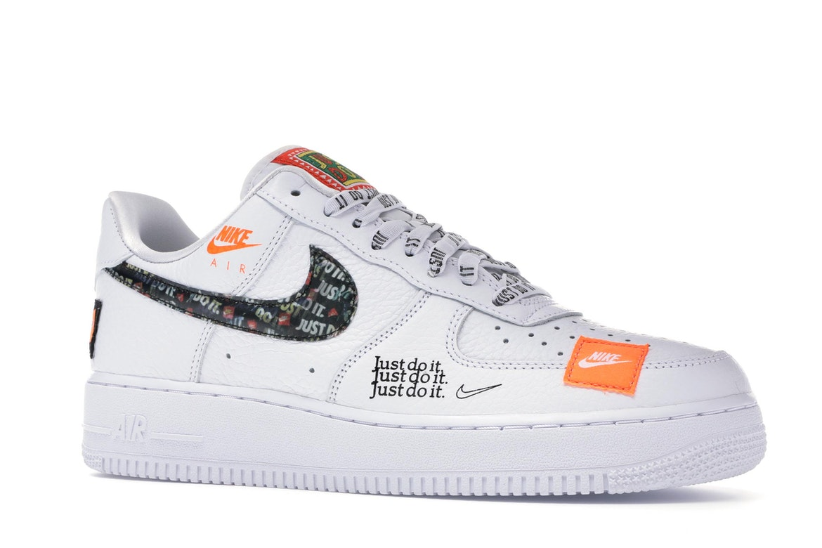 Nike Air Force 1 Low Just Do It Pack White/Black
