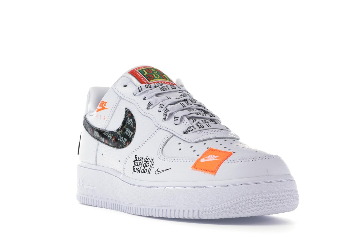 Nike Air Force 1 Low Just Do It Pack White/Black - AR7719-100