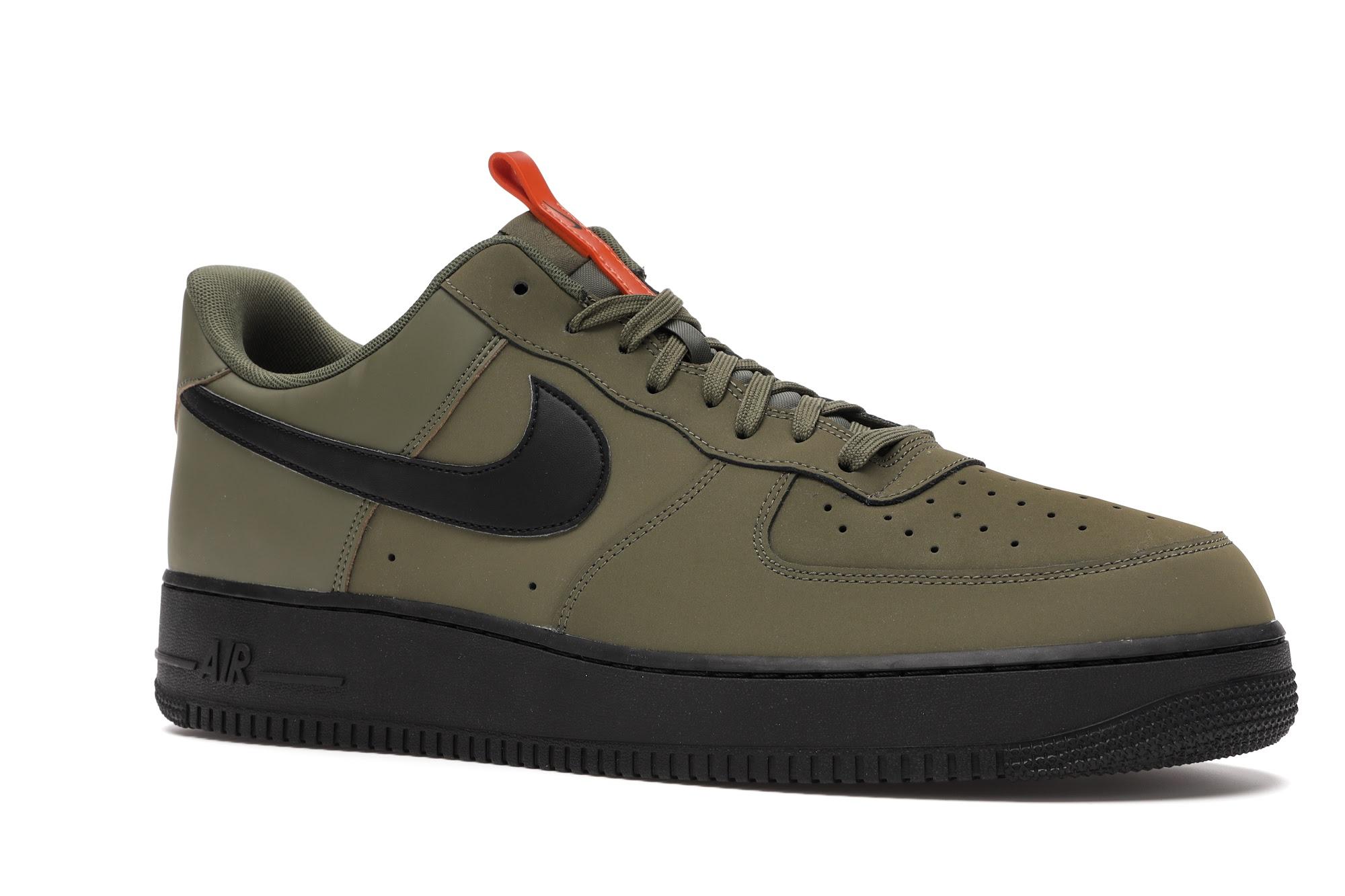 Nike Air Force 1 Low Medium Olive - BQ4326-200