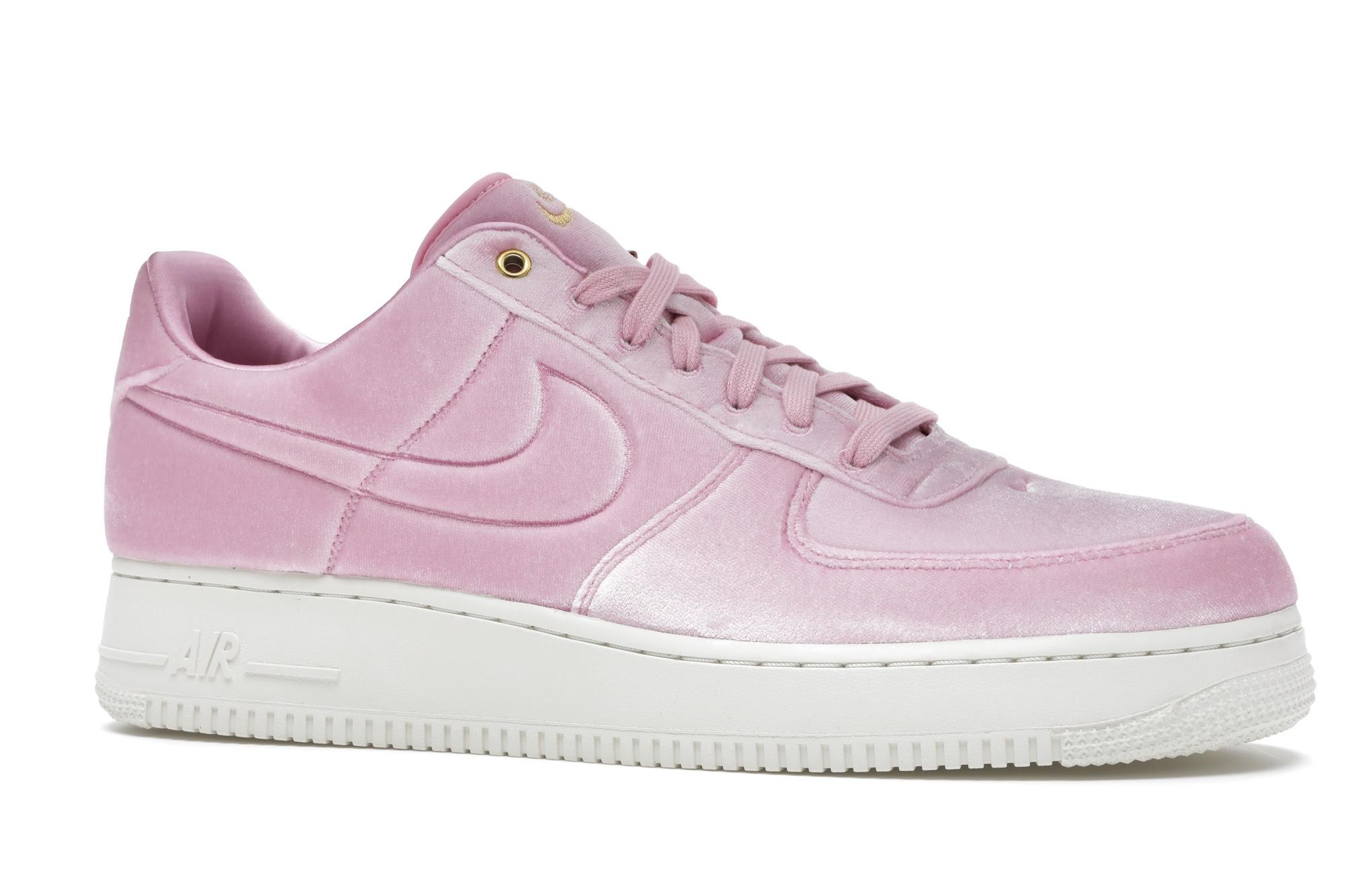 Nike Air Force 1 Low Premium 3 Velour Pink Rise