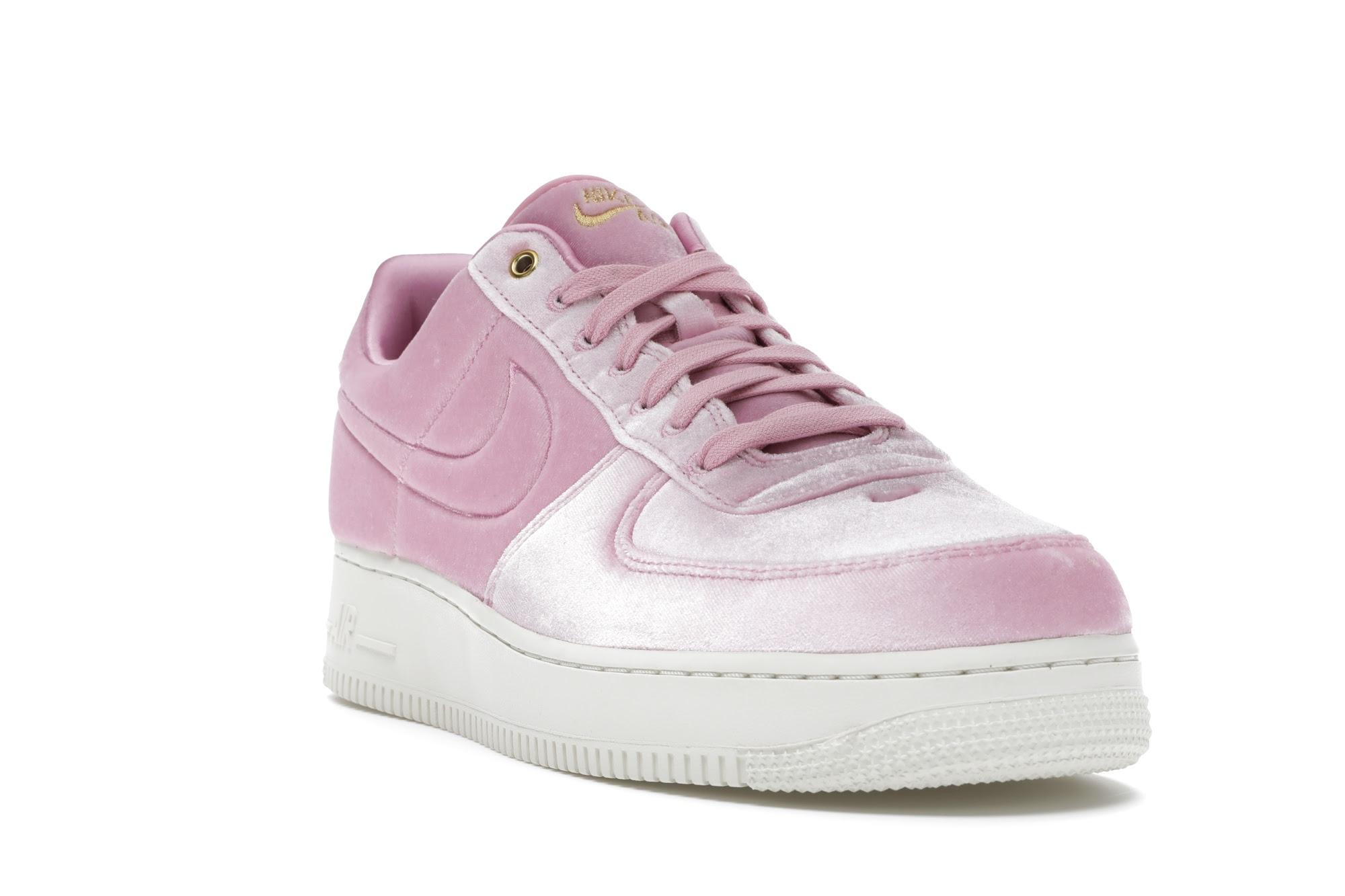 Nike Air Force 1 Low Premium 3 Velour Pink Rise - AT4144-600
