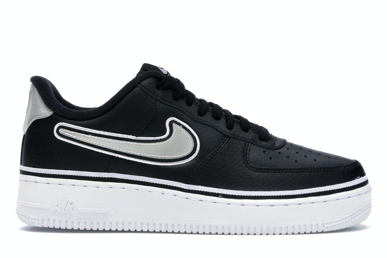 Nike Air Force 1 Low Sport NBA Black White