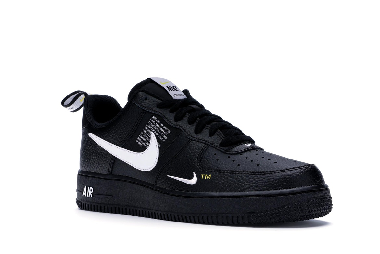 Nike Air Force 1 Low Utility Black White - AJ7747-001