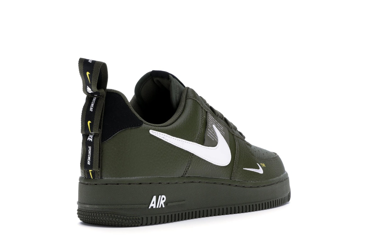 Nike Air Force 1 Low Utility Olive Canvas - AJ7747-300