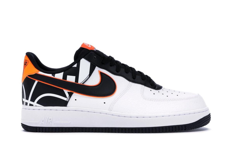 Nike Air Force 1 Low White Black Orange