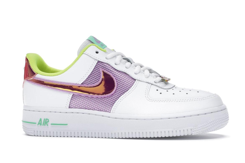 Nike Air Force 1 Low White Multi Pastel (W)
